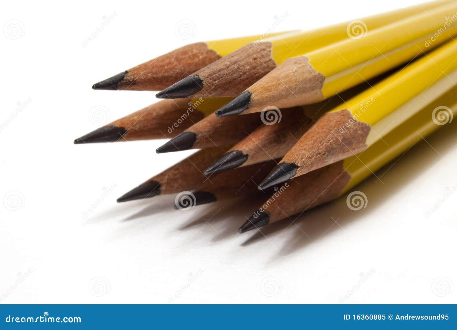 Several Sharpened Pencils