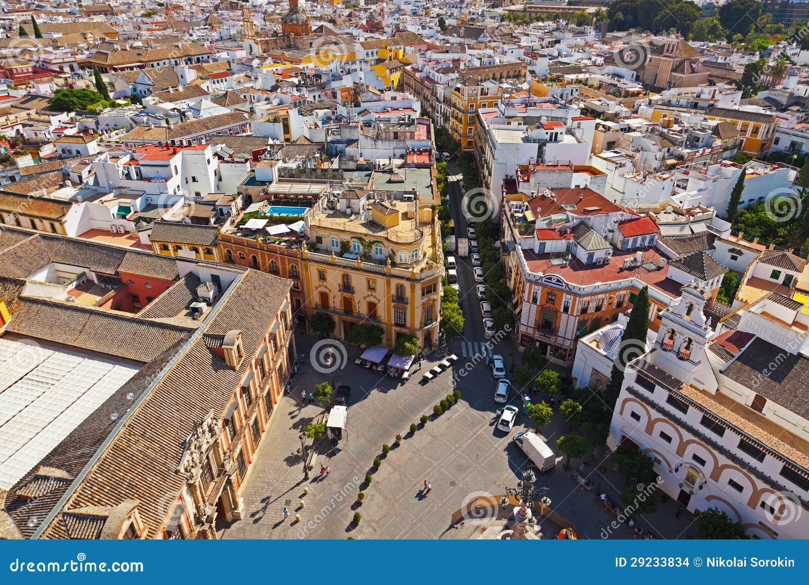 Download Sevilha Spain foto de stock. Imagem de plaza, igreja - 29233834