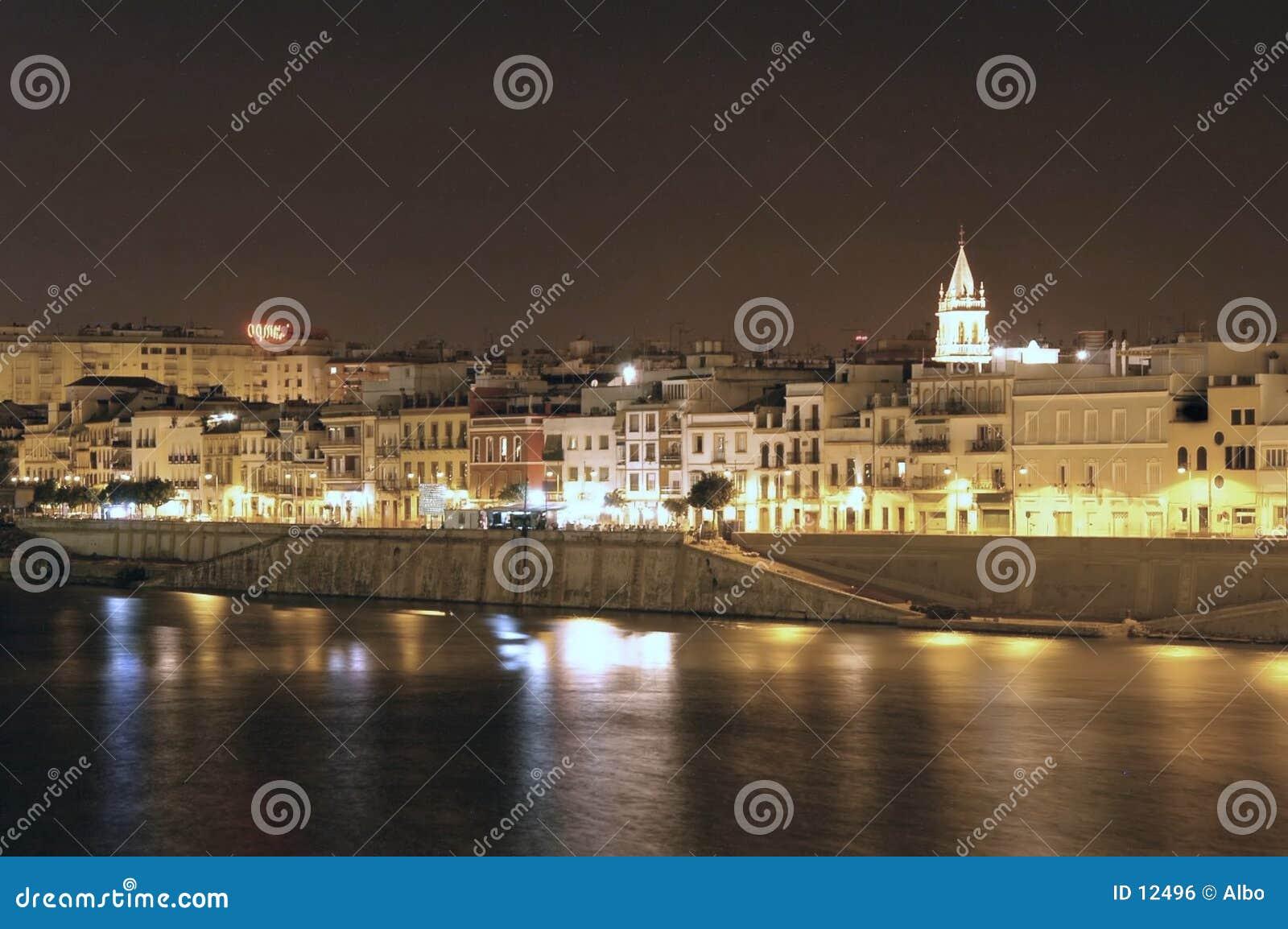 Sevilla bis zum Nacht