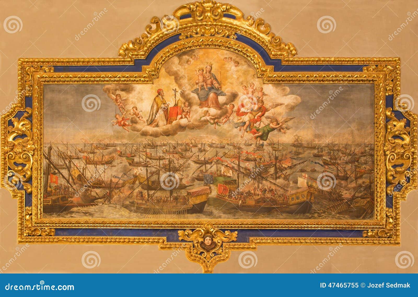 Sevilla la pintura de la batalla de lepanto a partir del for Todo pintura sevilla