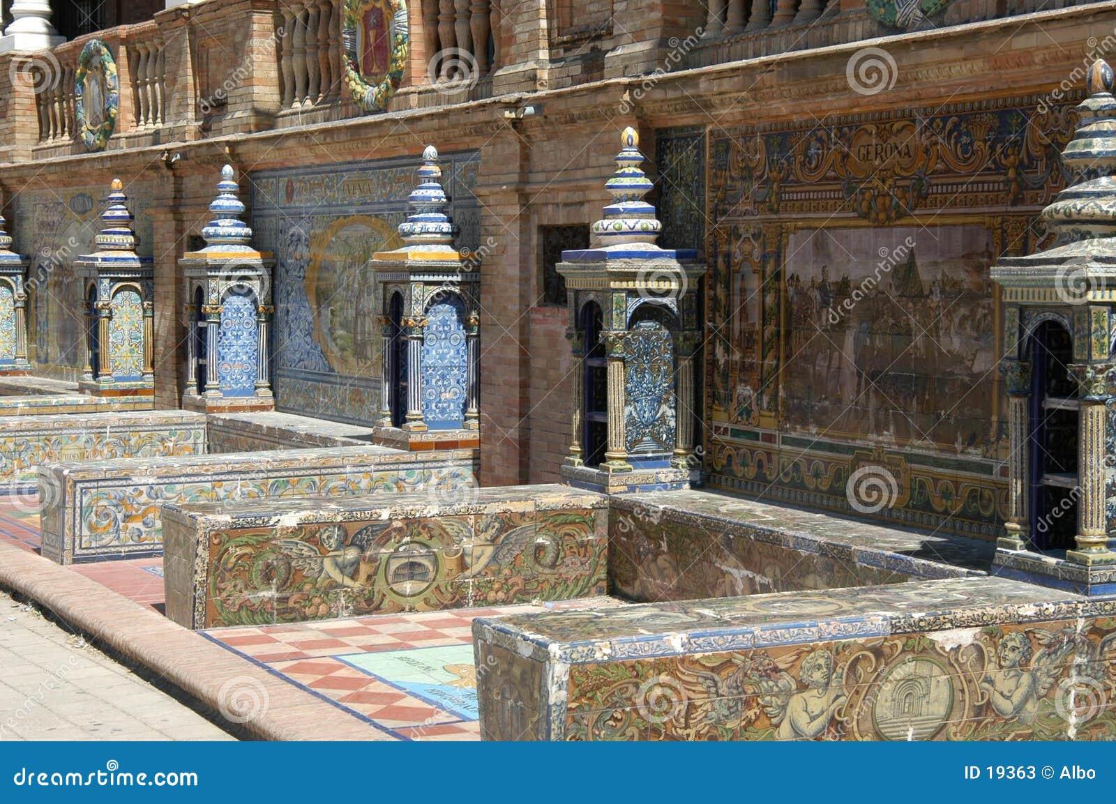 Sevilla - Plaza d Espana