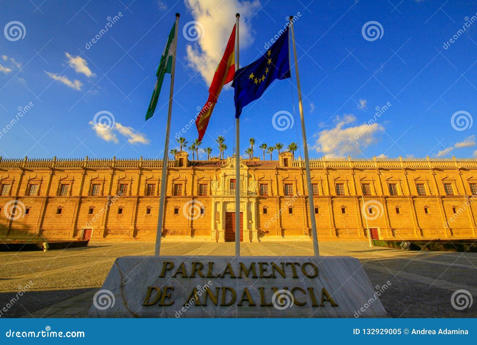 Sevilla, Spagna, 20 MAI 2015 Parlament dell Andalusia Siviglia