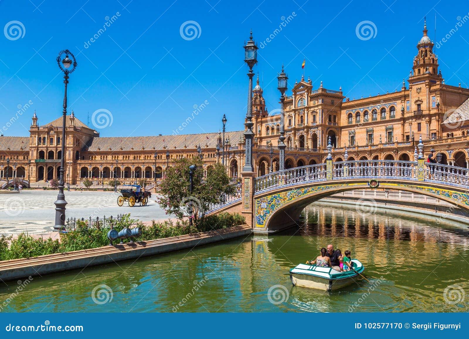 Sevilla spanish kwadrat