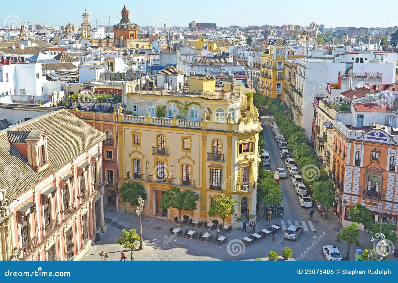 Seville Royalty Free Stock Image Image 23078406