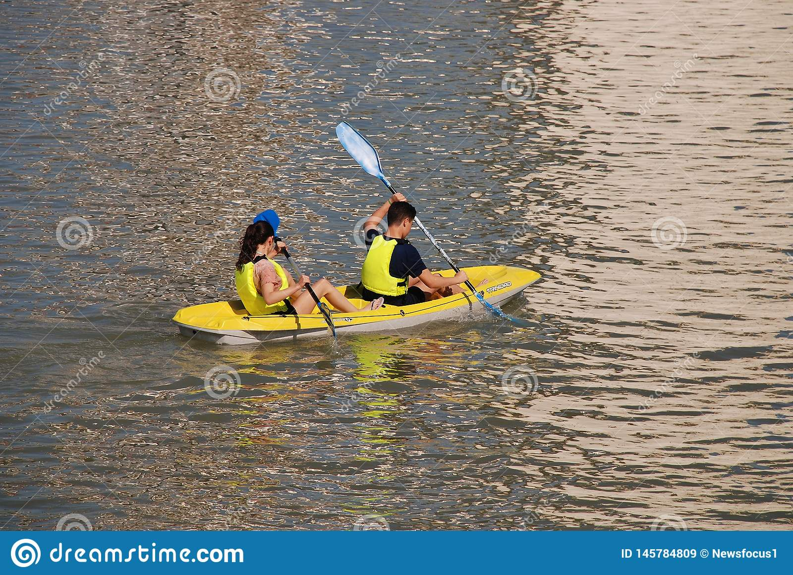 Seville kayakers