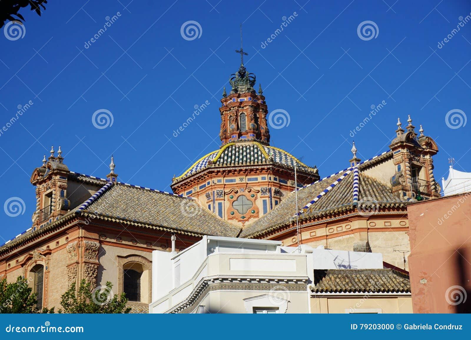 Seville miasta widok
