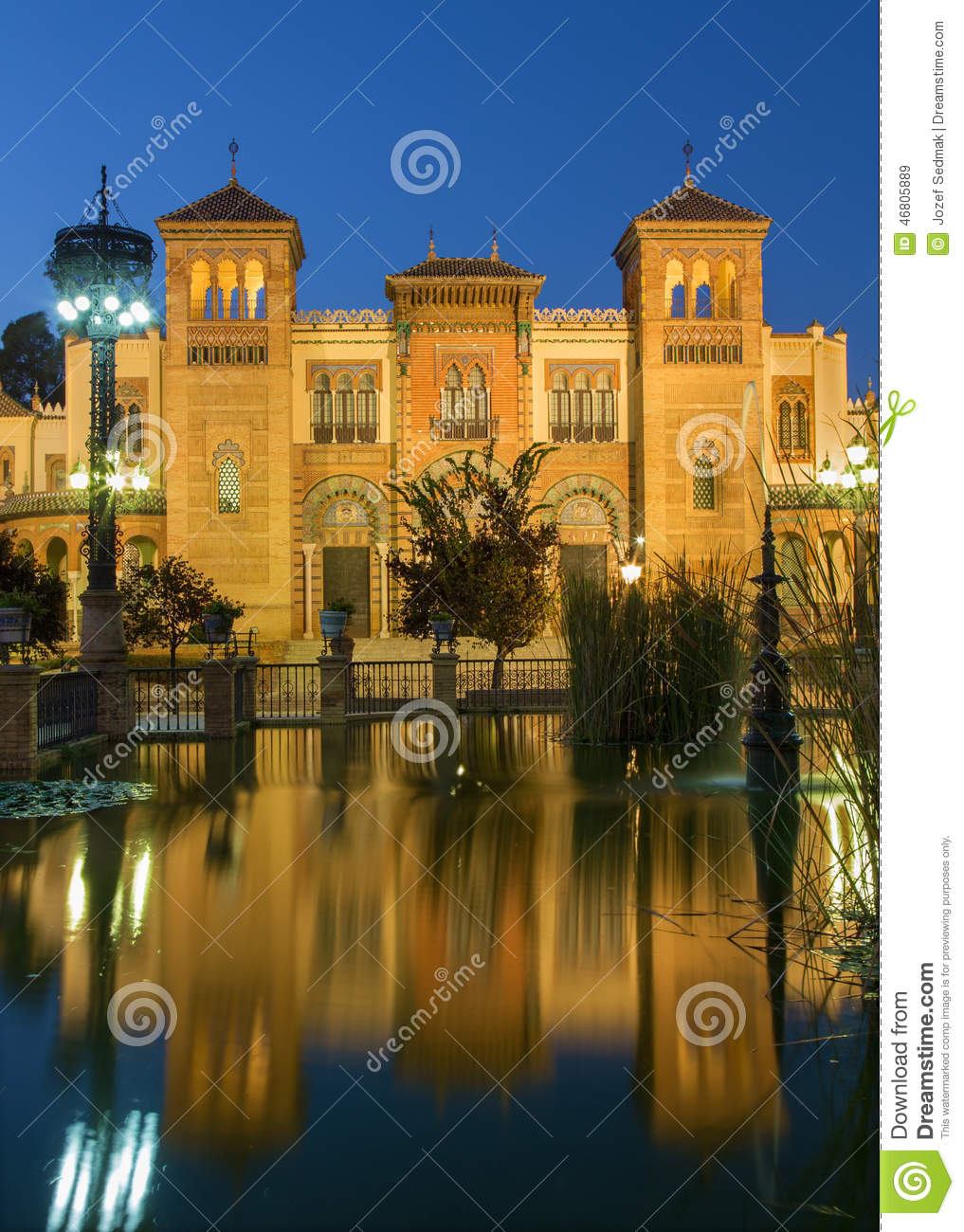 Seville - The Museum of Popular Arts and traditions (Museum of Artes y Costumbres Populares)