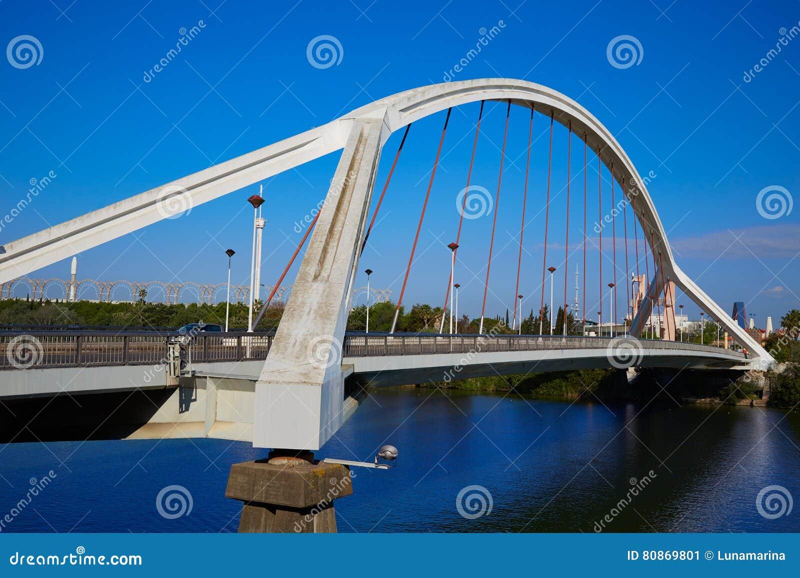 Seville Puente De Los angeles Barqueta most Sevilla