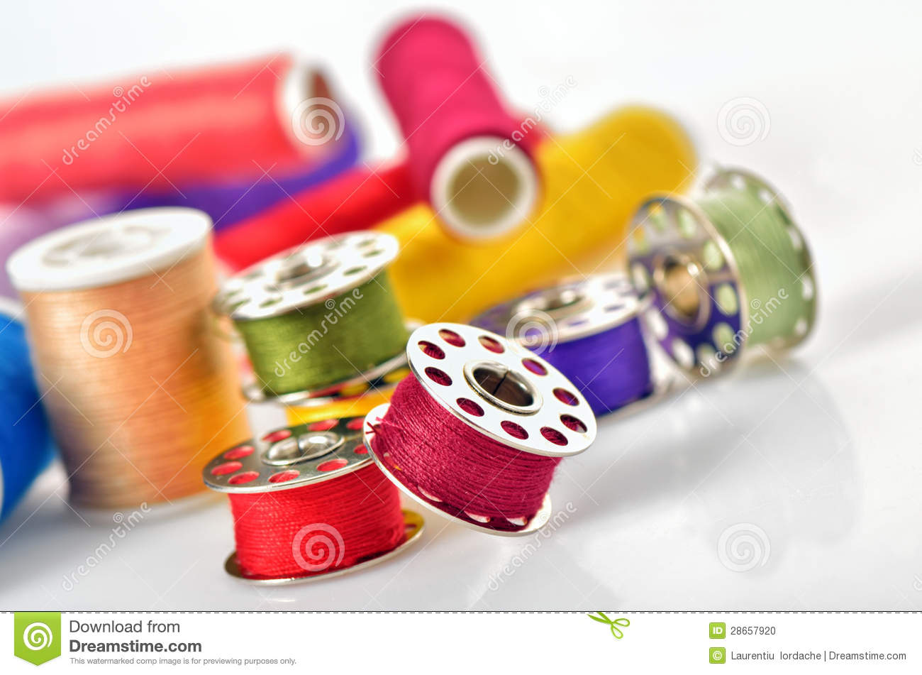 Sewing Accessories Stock Photo Image 28657920