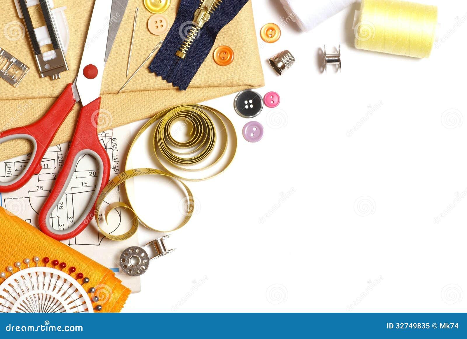 Sewing Background Royalty Free Stock Photo Image 32749835