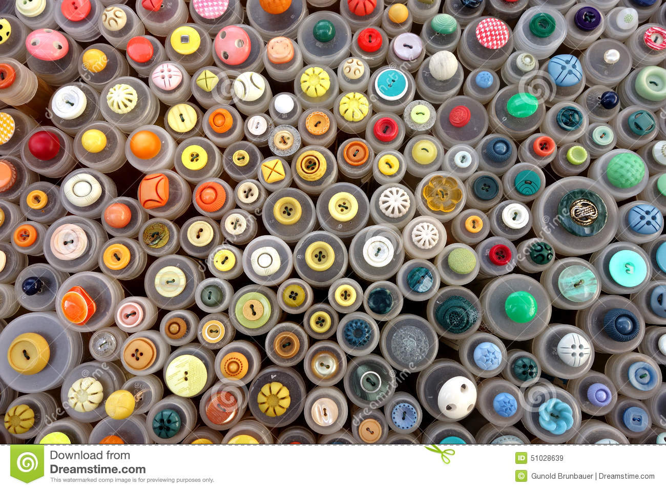 Sewing buttons stock photo image 51028639 for Craft buttons for sale