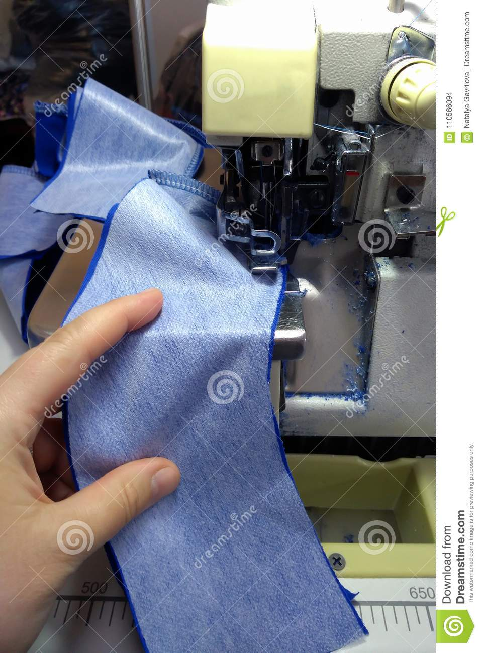 Sewing machine, clothing manufacture,