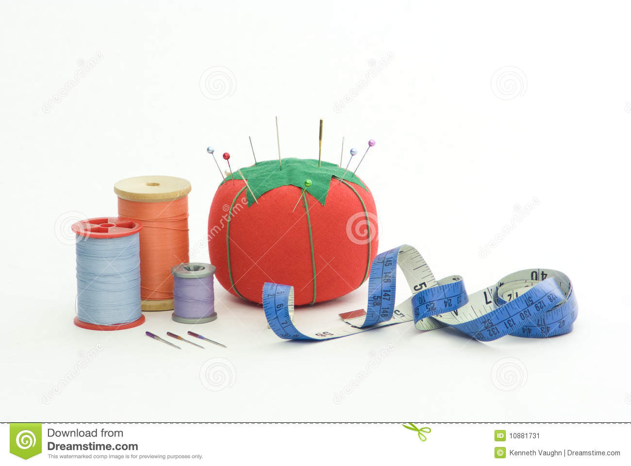 Sewing materials stock image image 10881731 for Sewing materials