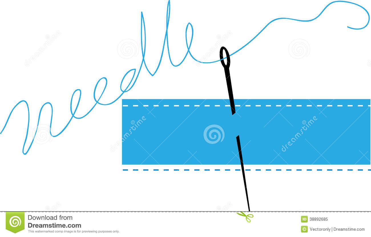 Free Vector Illustration Juniper: Sewing Needle Stock Vector. Image Of Crafts, Dressmaking