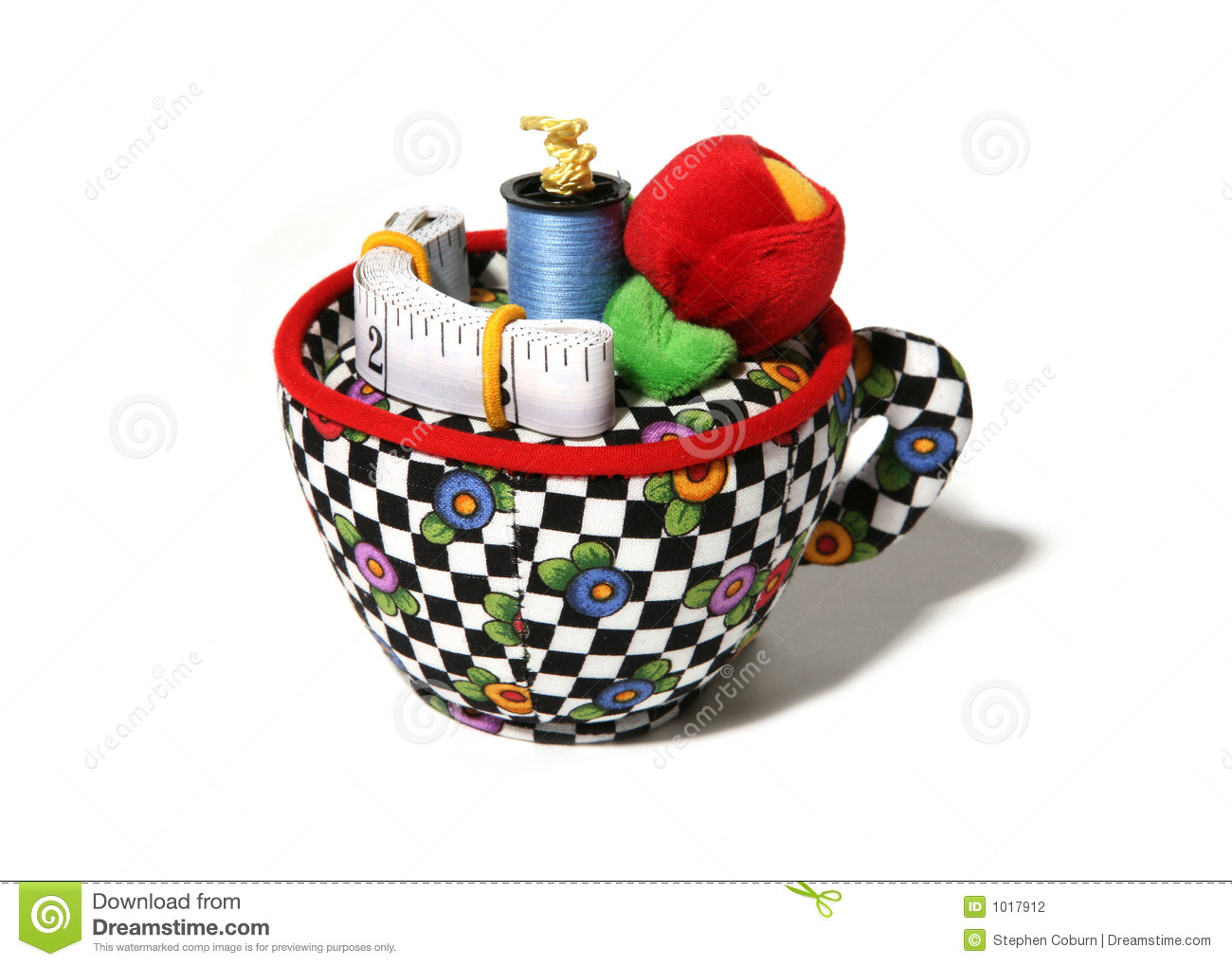 Sewing supplies stock photography image 1017912 for Sewing materials