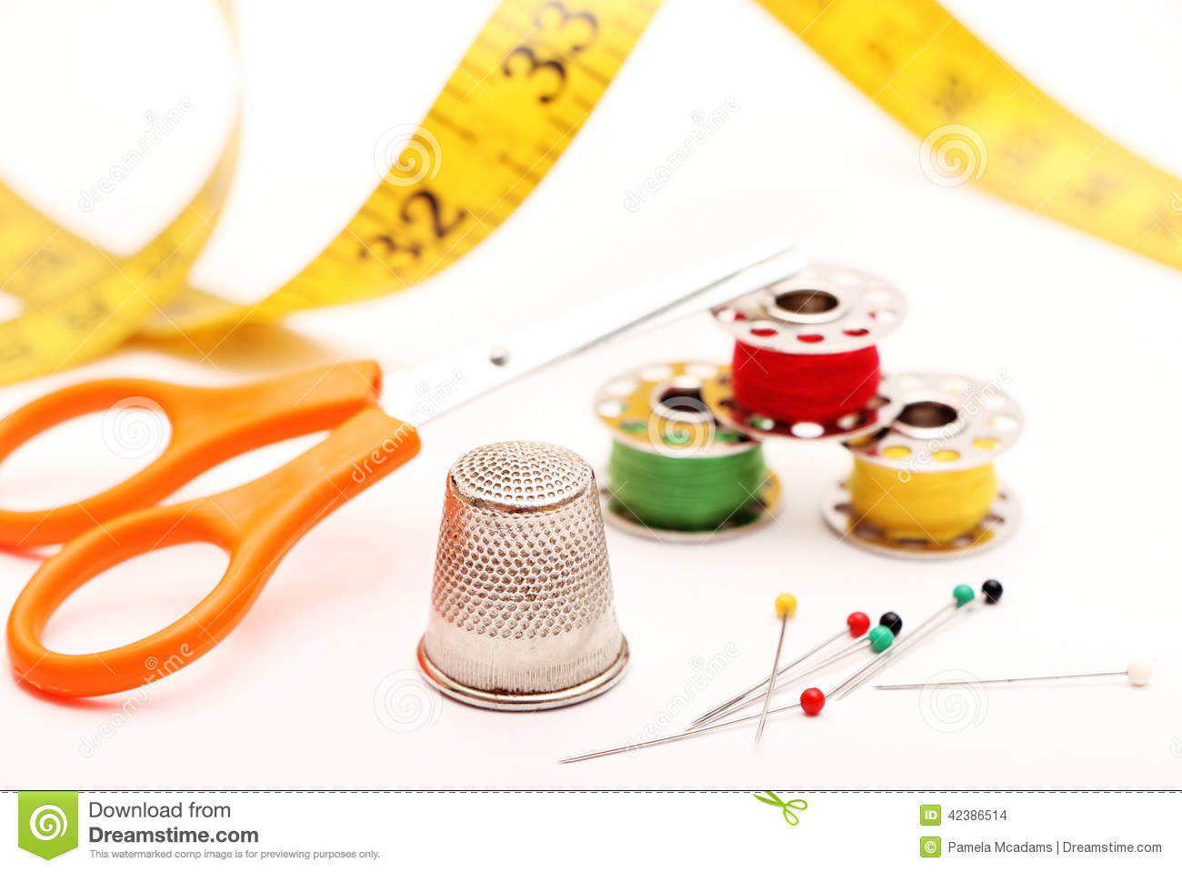 Sewing supplies stock photo Image of cord manufacturing