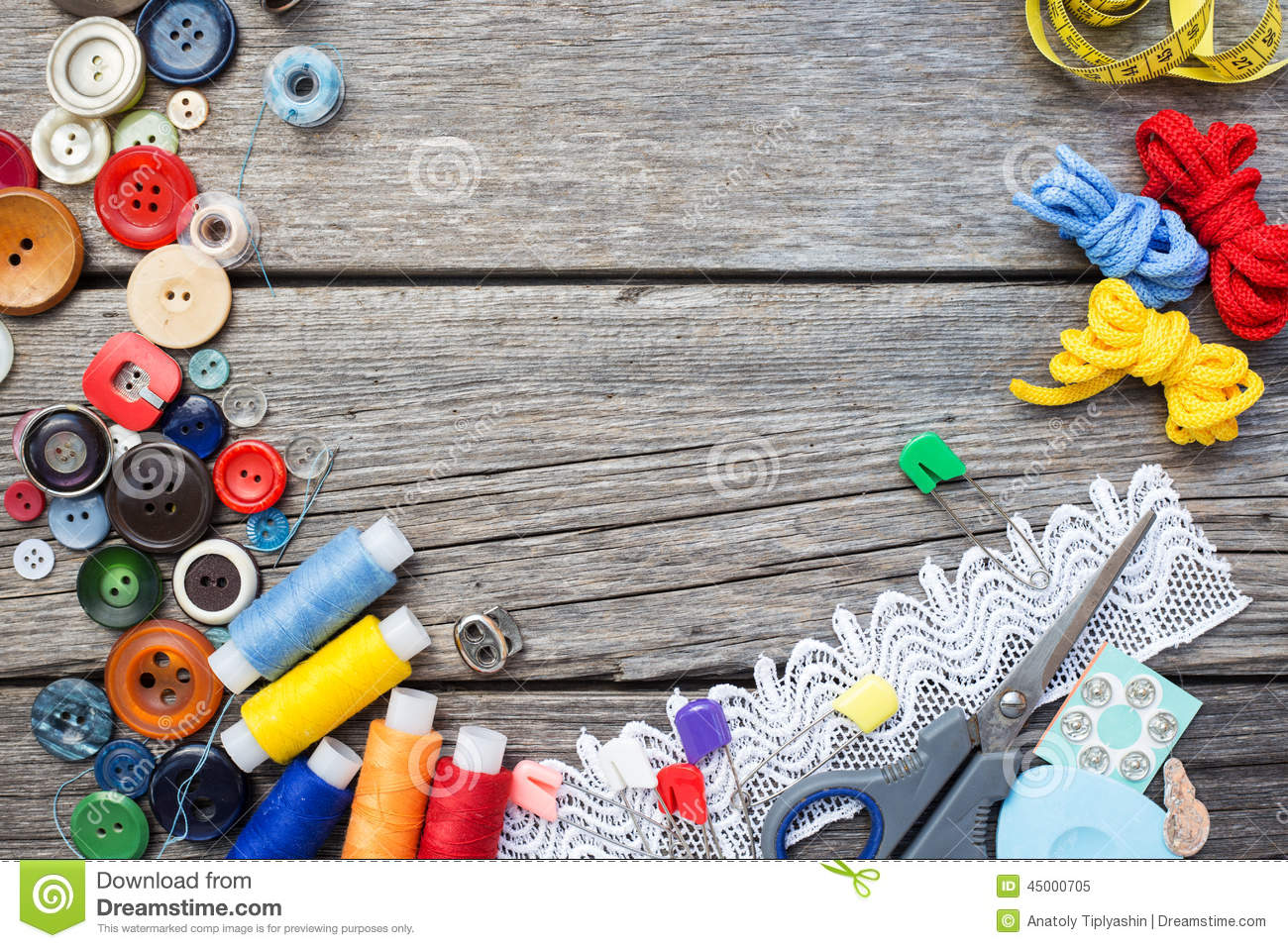 Sewing supplies stock illustration image of bobbin retro for Sewing materials