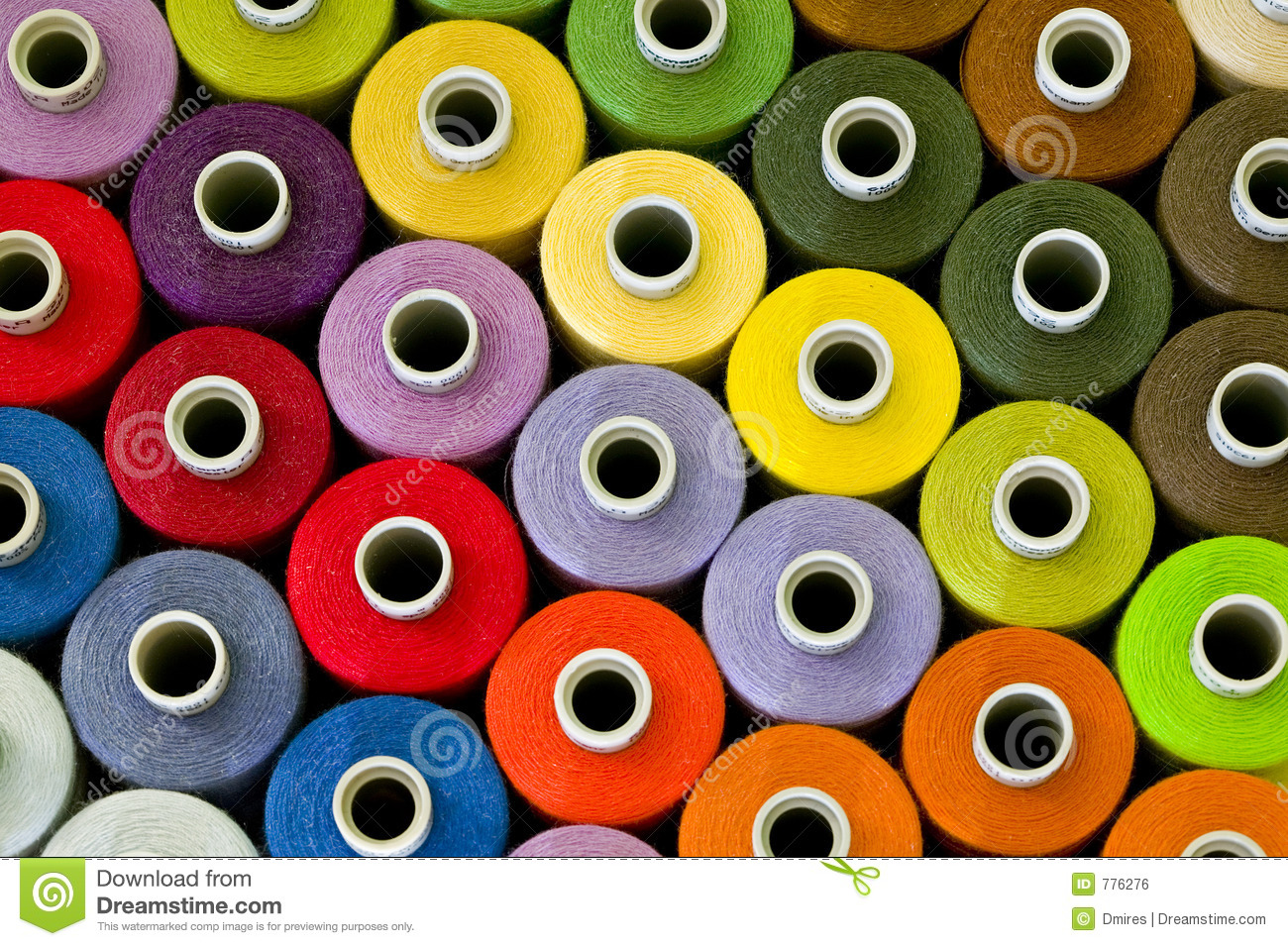 Sewing Thread Pattern Royalty Free Stock Image - Image: 776276