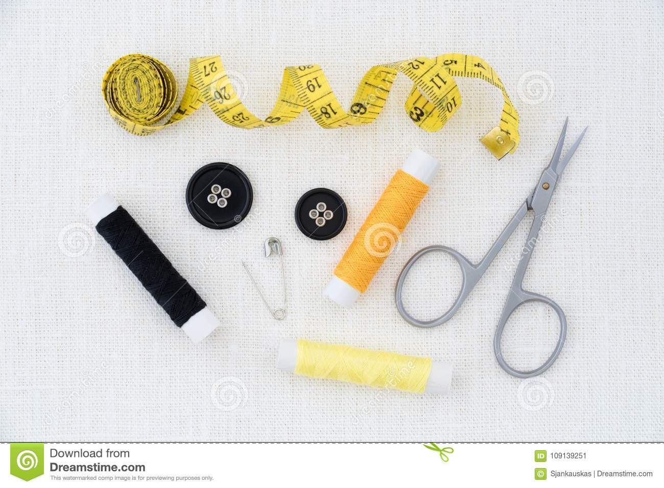 Clothing Design Tools | Sewing Tools Clothing Design Concept Stock Image Image Of Sewing