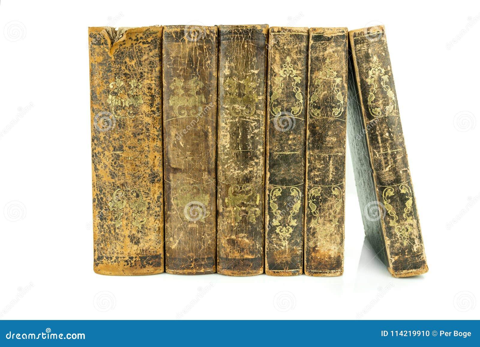 Sex åldrades forntida gammalt stå för läderböcker