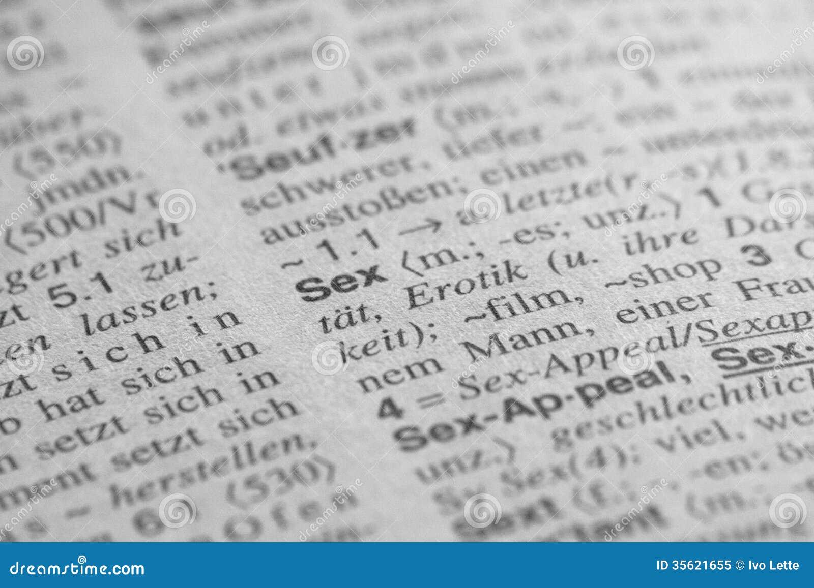 Sex auf deutsch