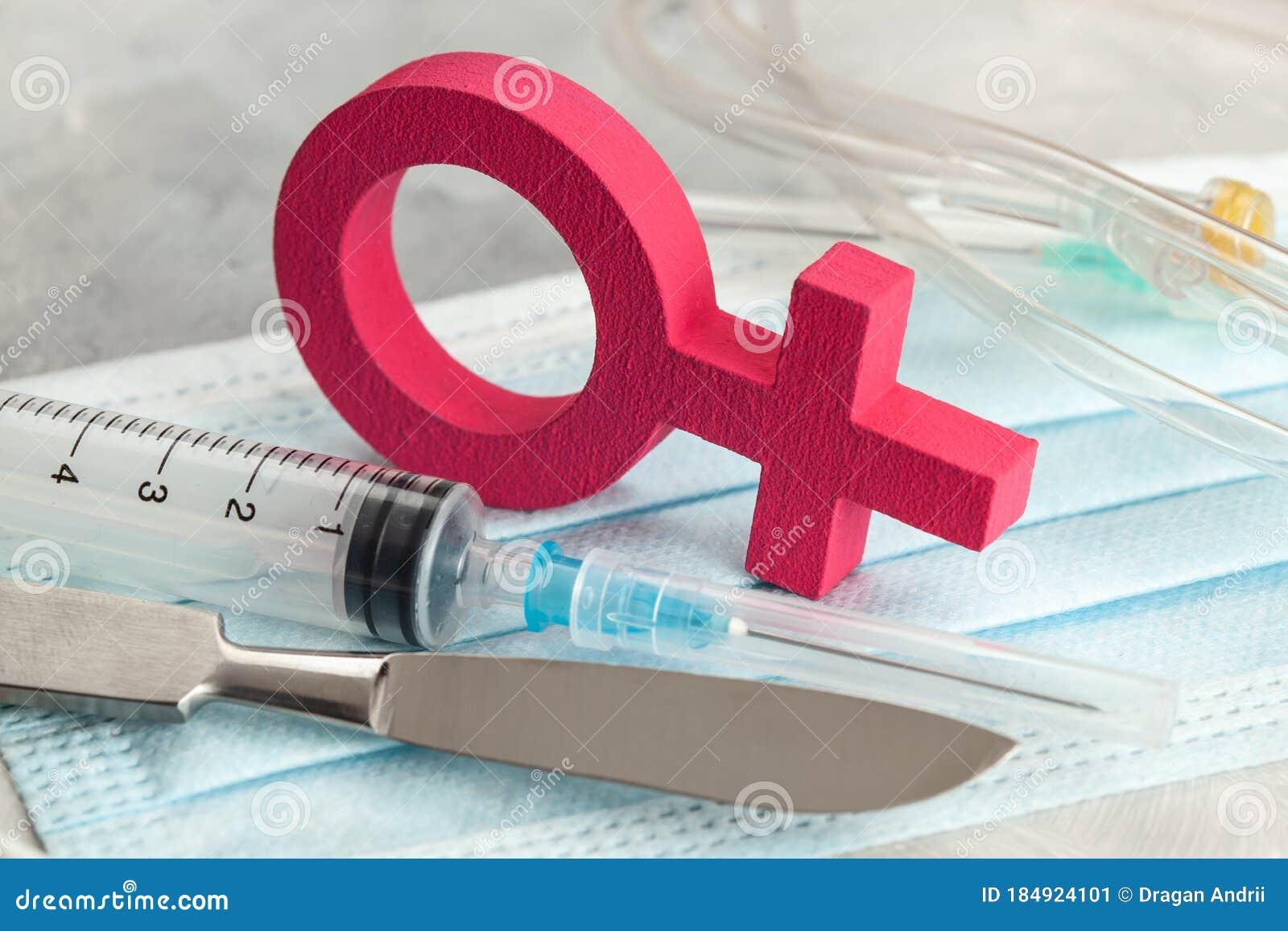 Male sex change operation