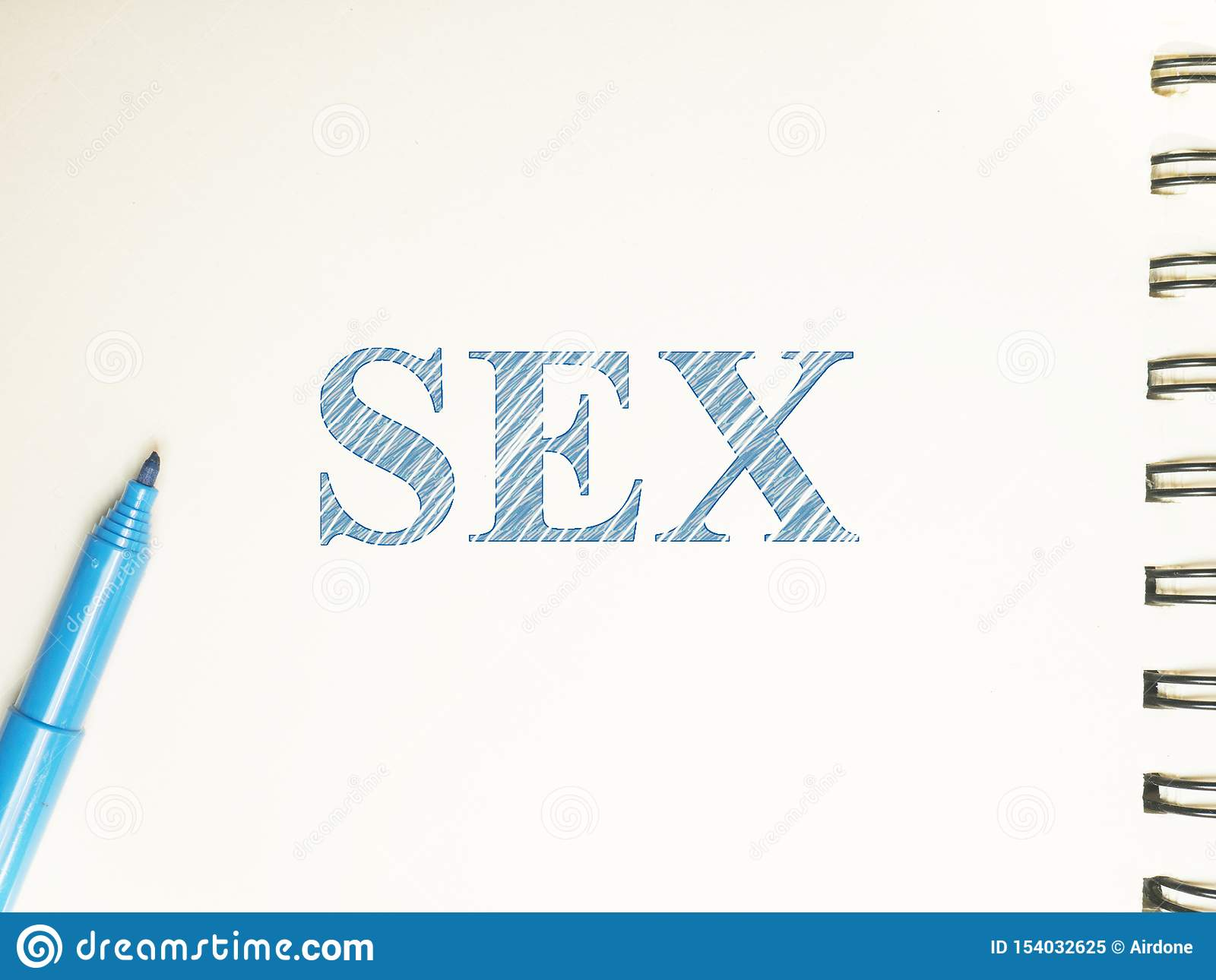 Sex dirty words