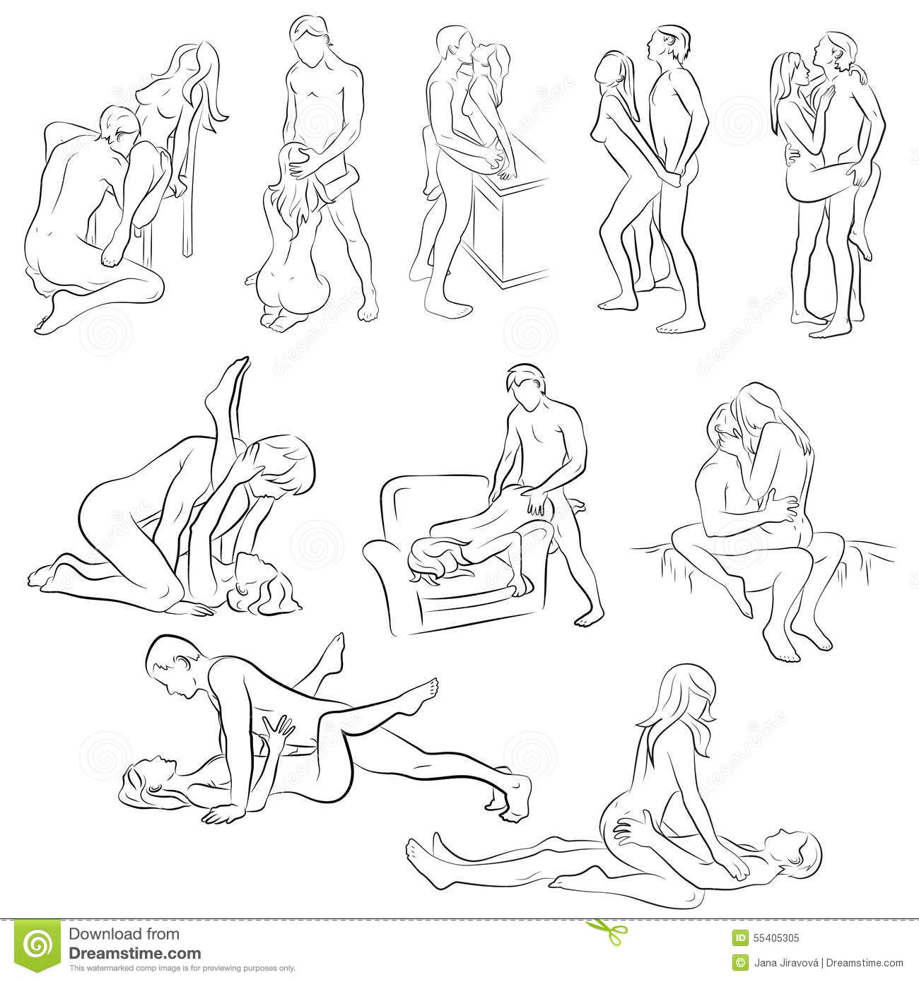 cartoon sexe positions sexuelles