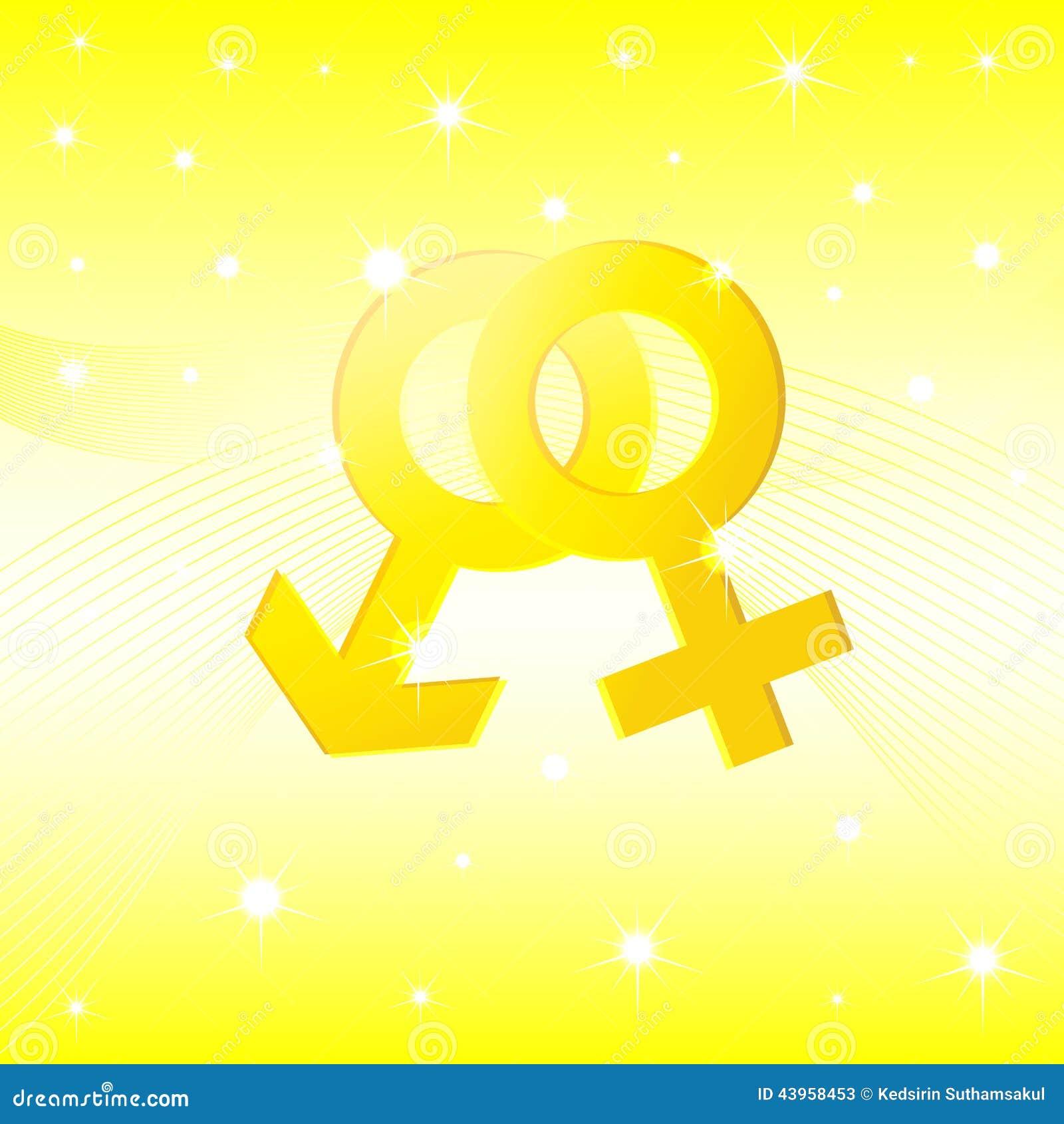 Sex Symbol Illustrator Background Stock Vector Illustration Of