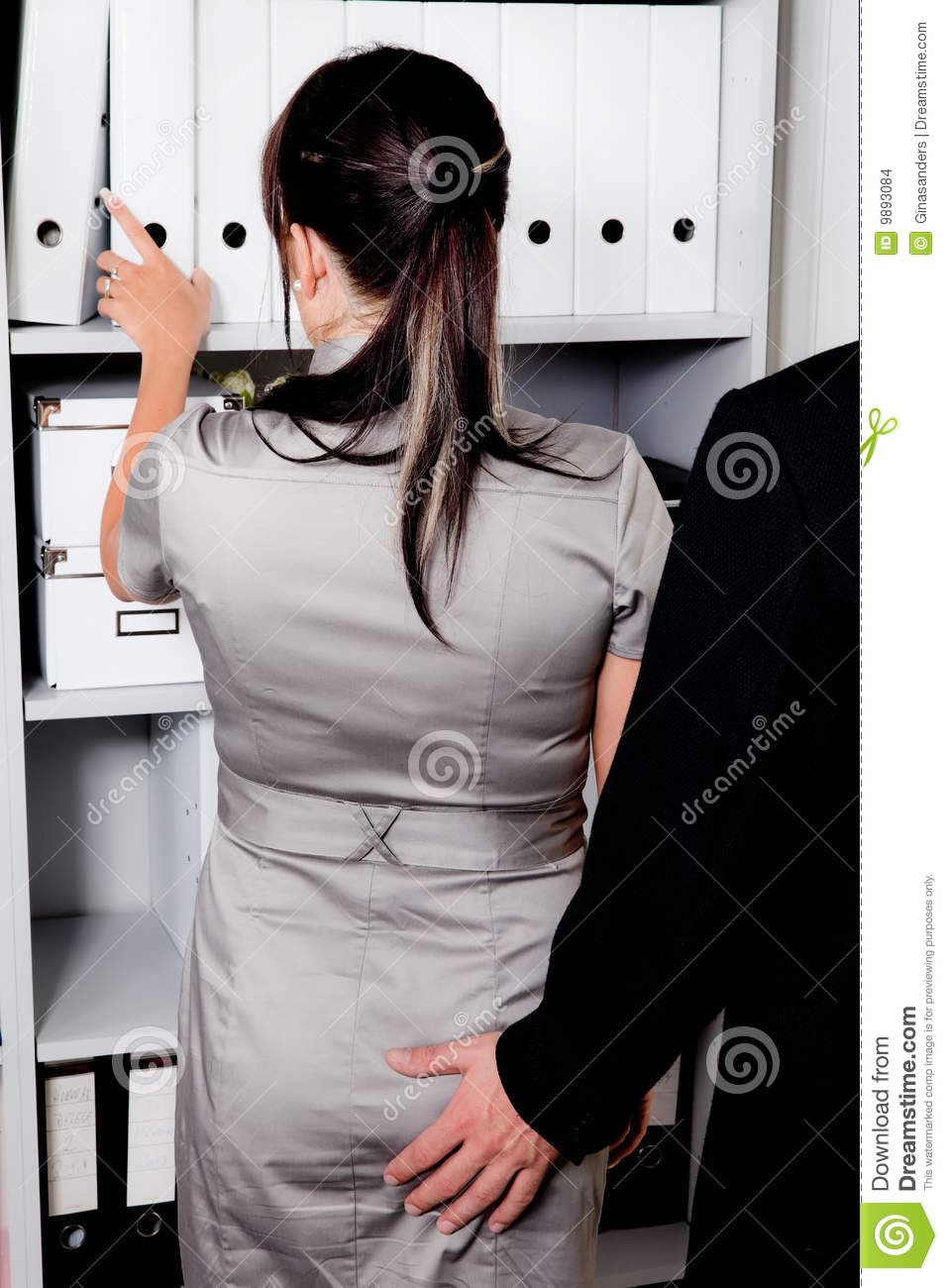 sexual harassment at work in the office stock photo. Black Bedroom Furniture Sets. Home Design Ideas