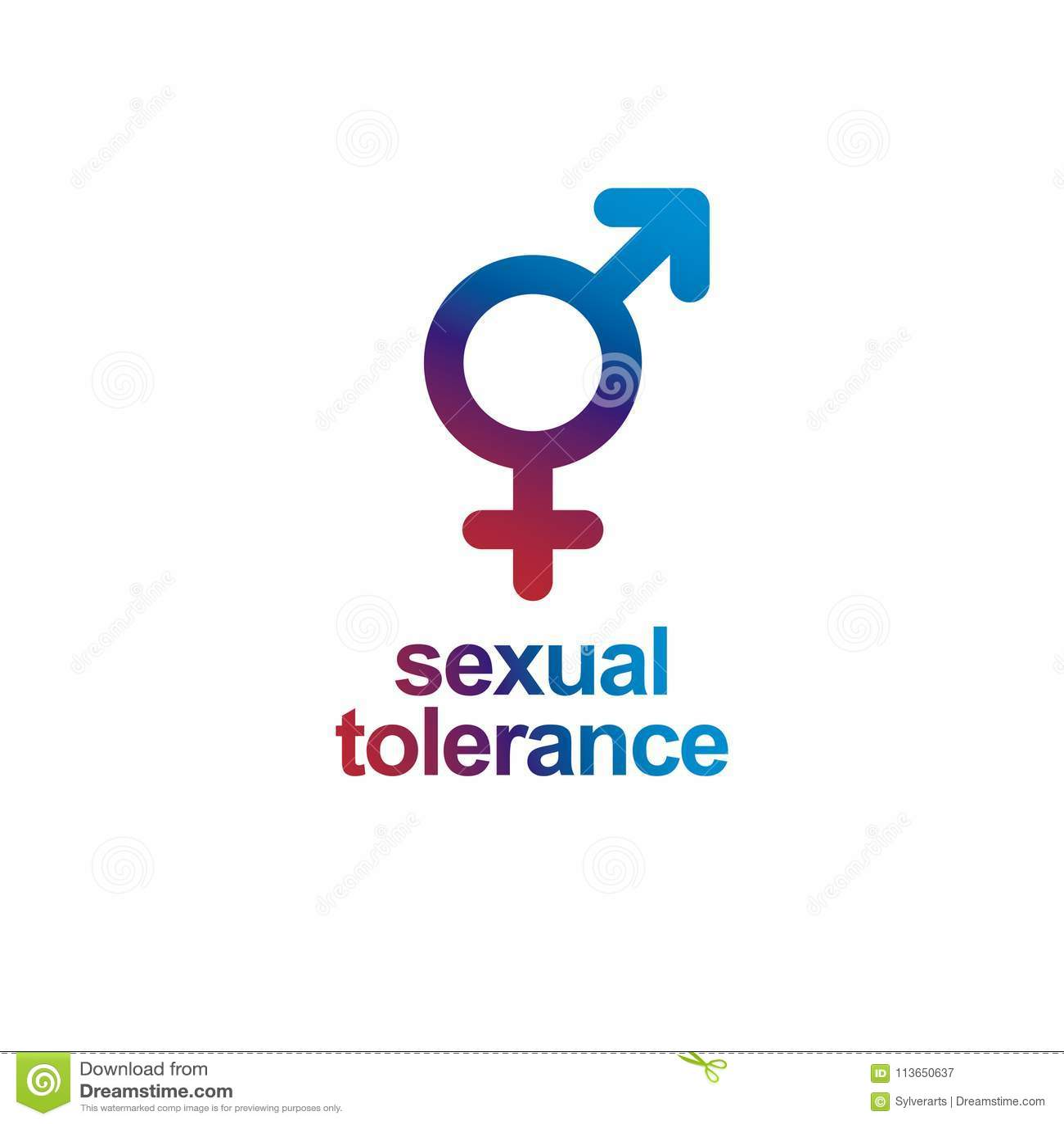 Sexual Tolerance Concept Mars Male And Venus Female Symbols Com