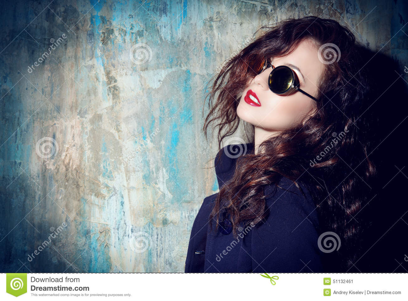 Sexual Young Woman Stock Photo