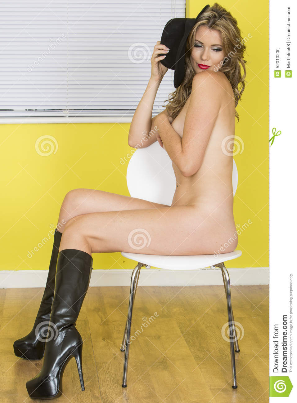 Naked Women Wearing Boots And Masterbaiting 23