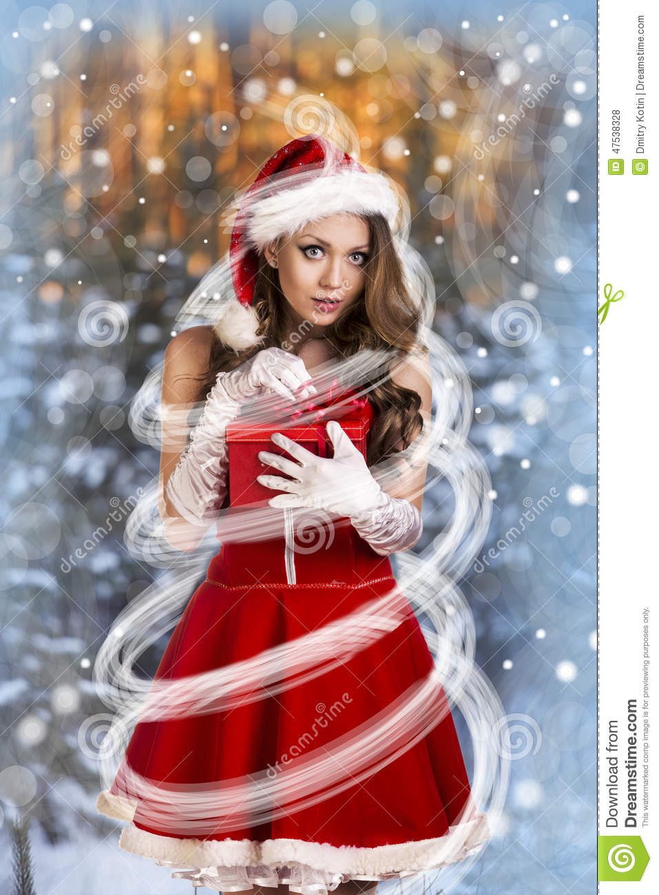 Sexy and beautiful Santa girl in red Santa's dress and hat over winter ...: https://www.dreamstime.com/stock-photo-sexy-beautiful-santa-girl-red-s-dress-hat-over-winter-forest-background-christmas-card-image47538328