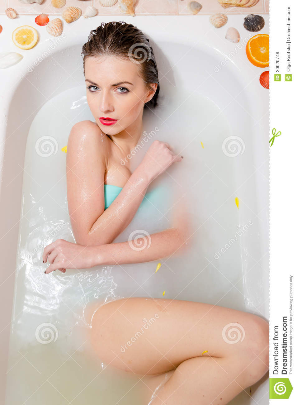Sexy bath photos