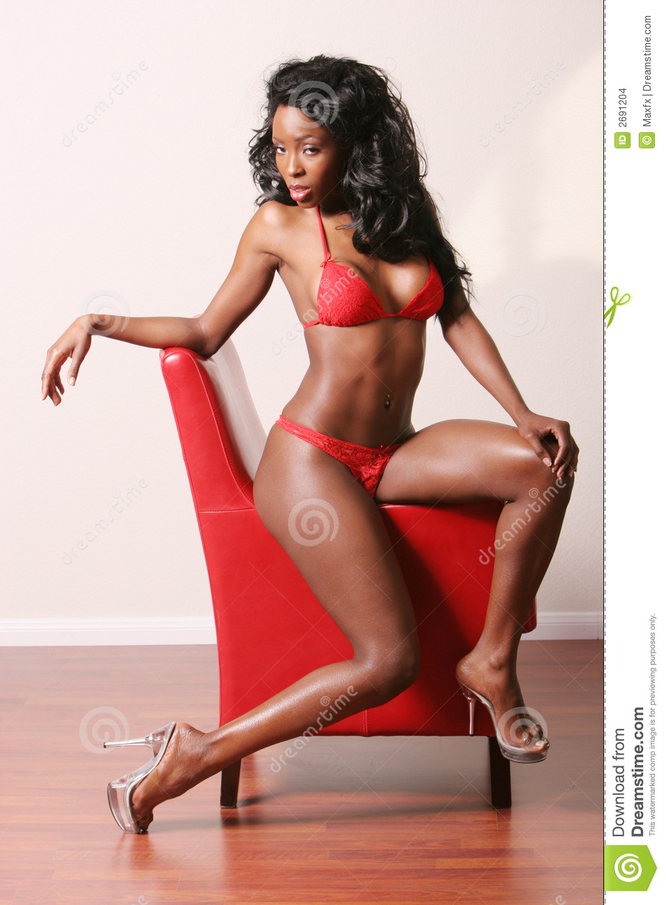 Sexy Black Woman Stock Images Image 2691204