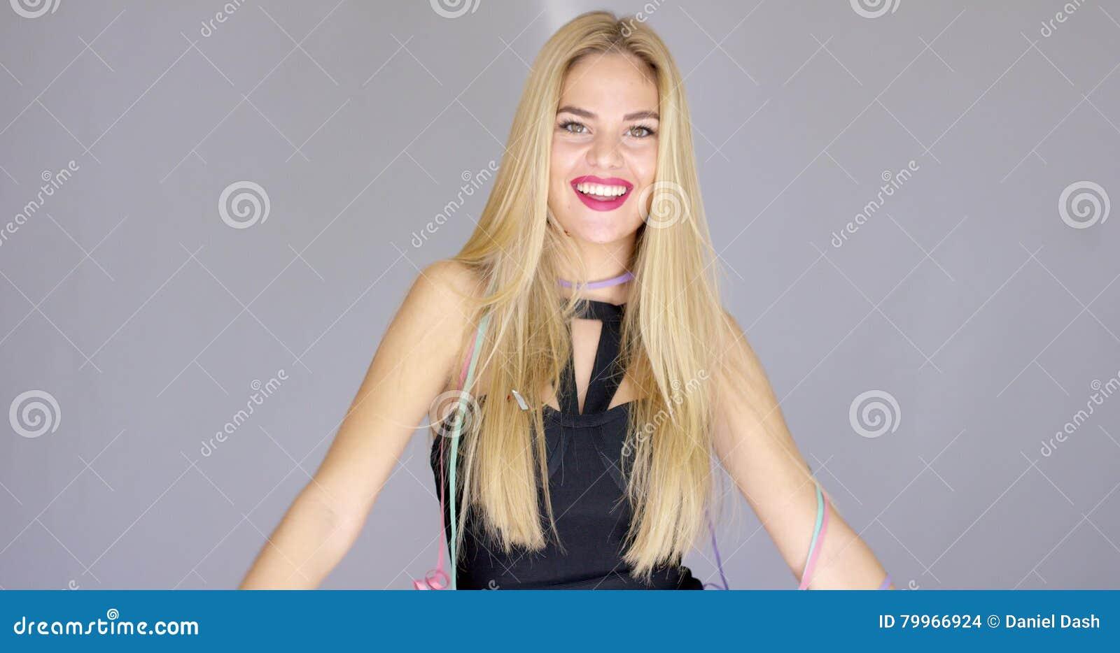 Sexy Big Tit Blonde Granny