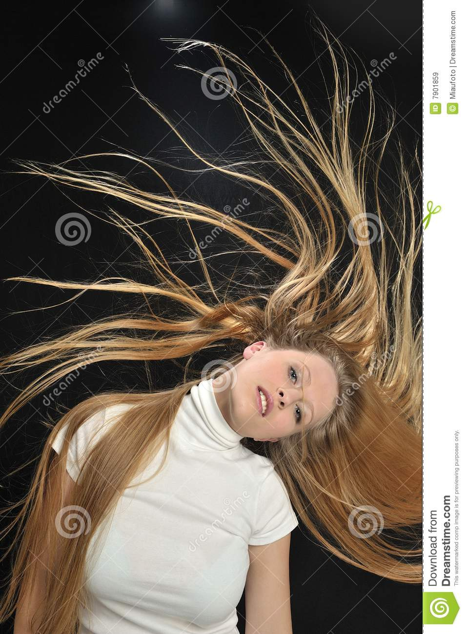 Sexy Blond Long Hair Teen Age Girl Royalty Free Stock Images - Image -3950
