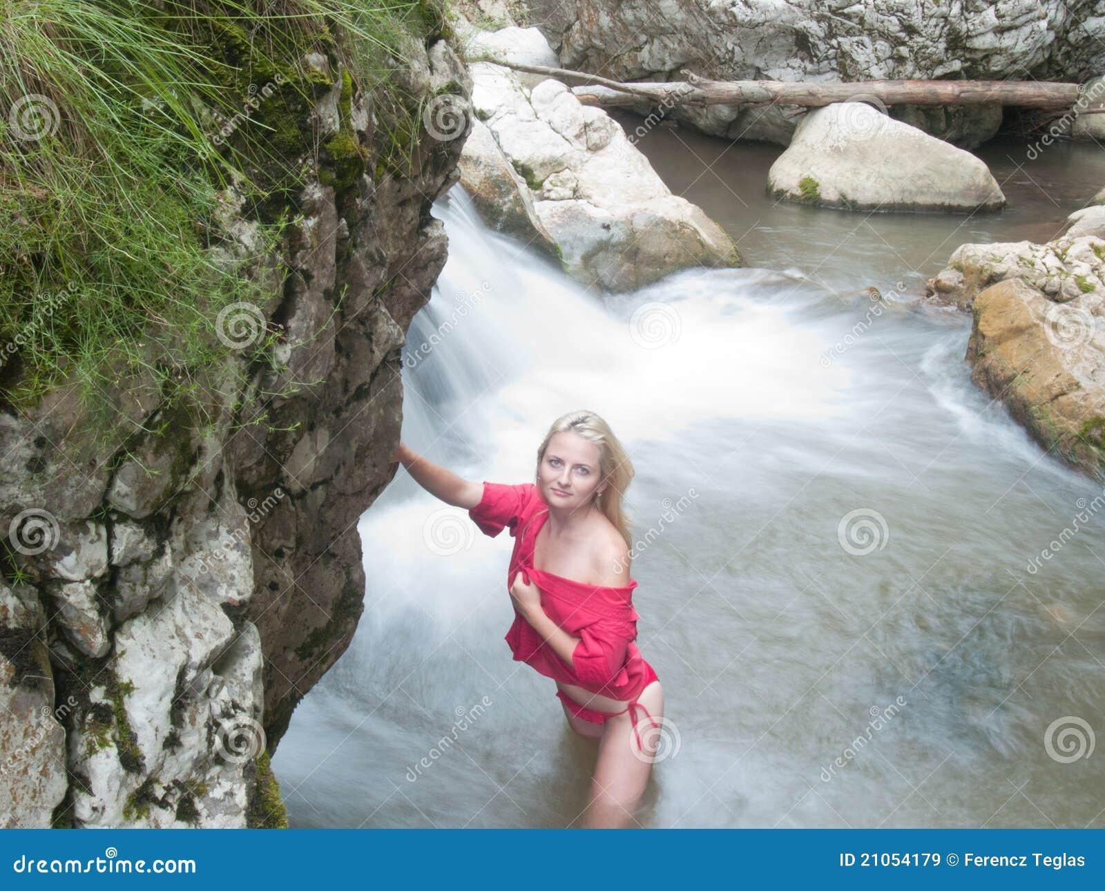 Hot springs nude back girl