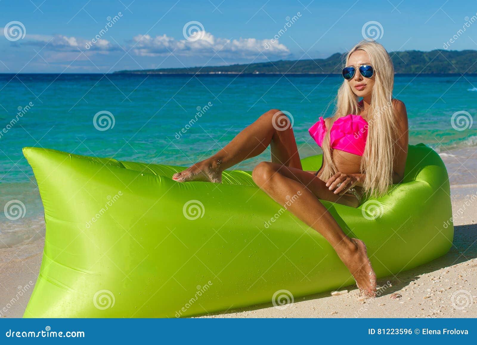 Leidenschaft Mit Einer Sexy Blondine