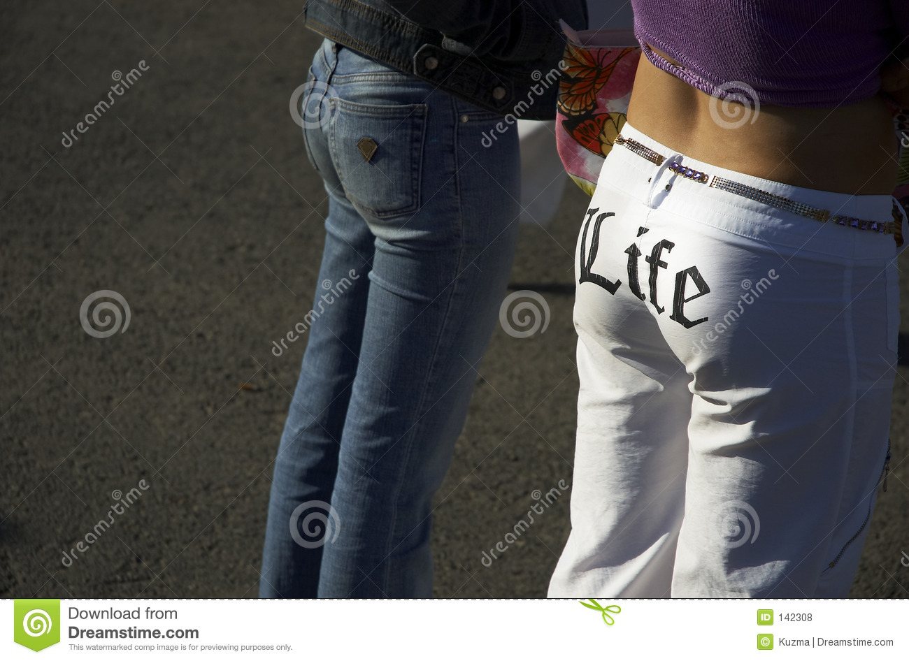 Sexy Bums Royalty Free Stock Photos - Image: 142308