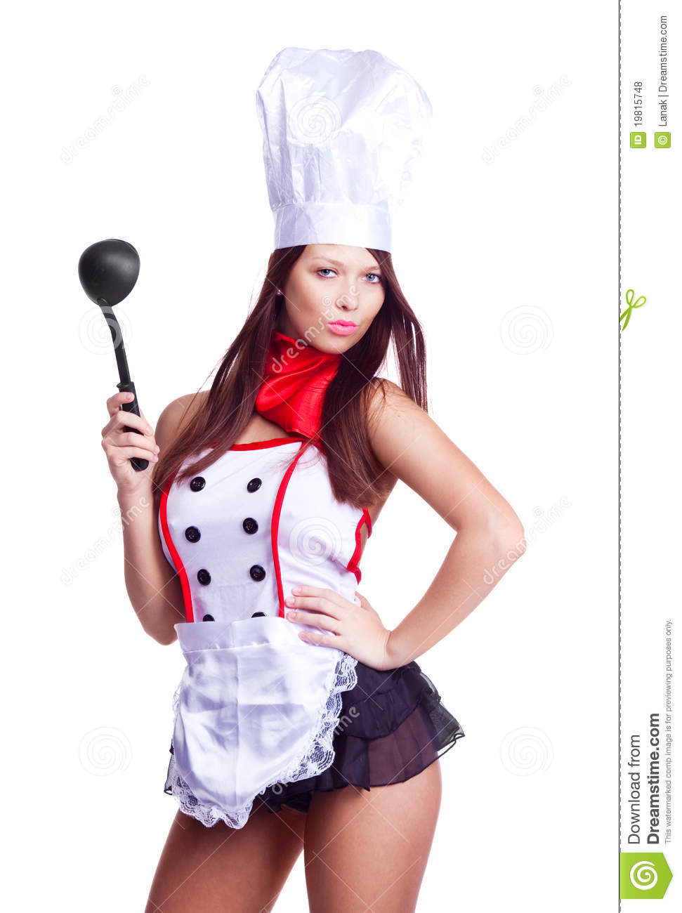 sexy cook royalty free stock photos   image 19815748