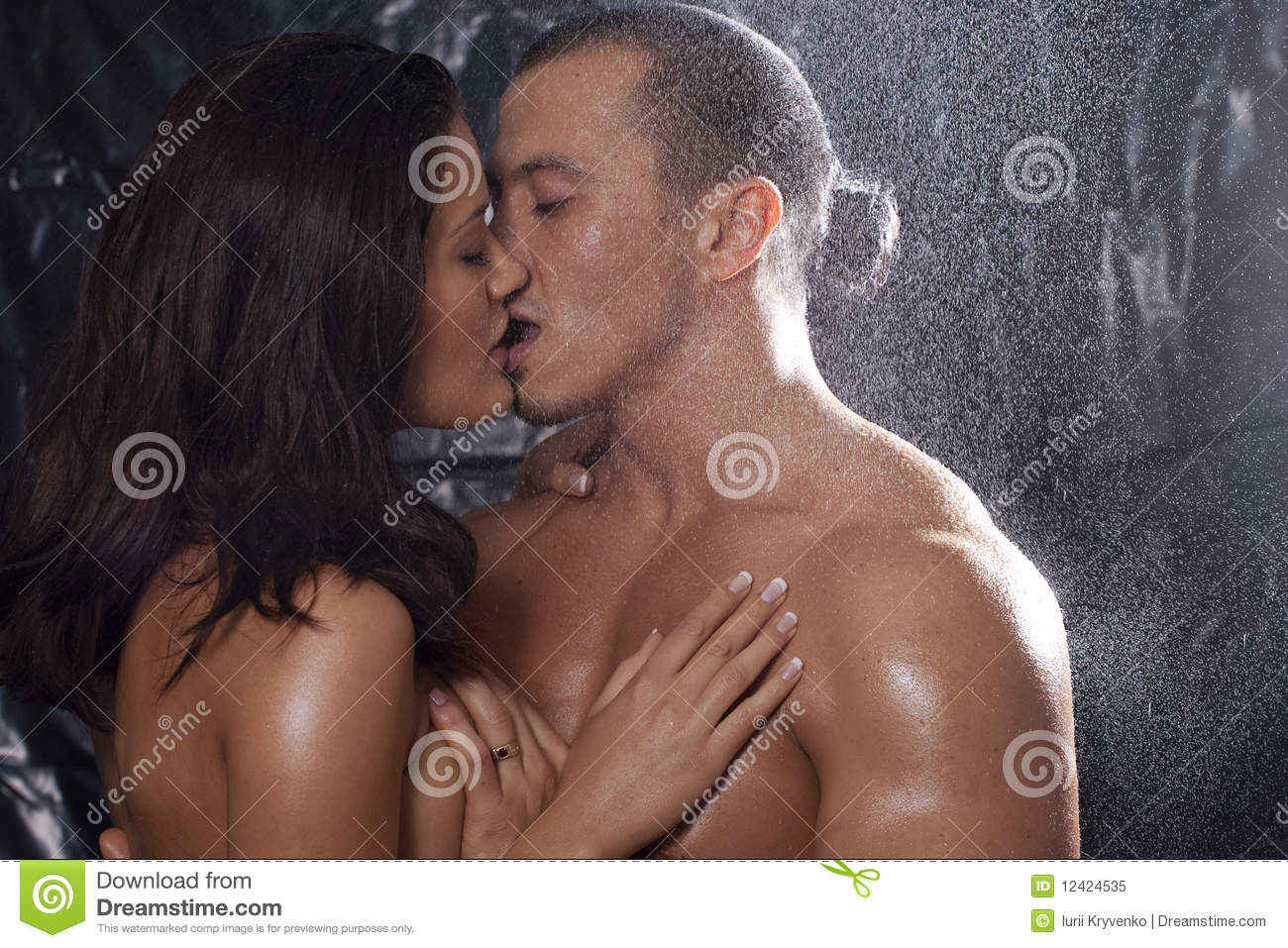 The question Couples naked in shower kissing speaking, opinion