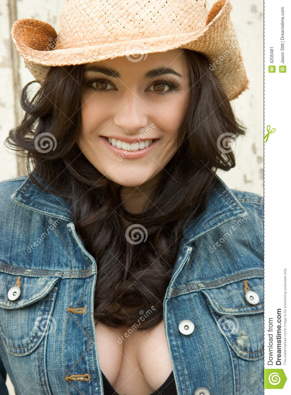 Cowgirl Stock Image Image Of Person Hair Gorgeous