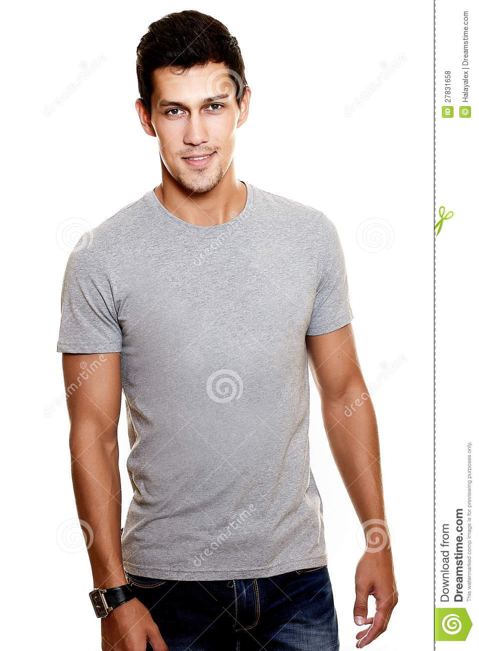 Fashion Stylish Young Man Stock Photo Image Of Look - 27831658-3239