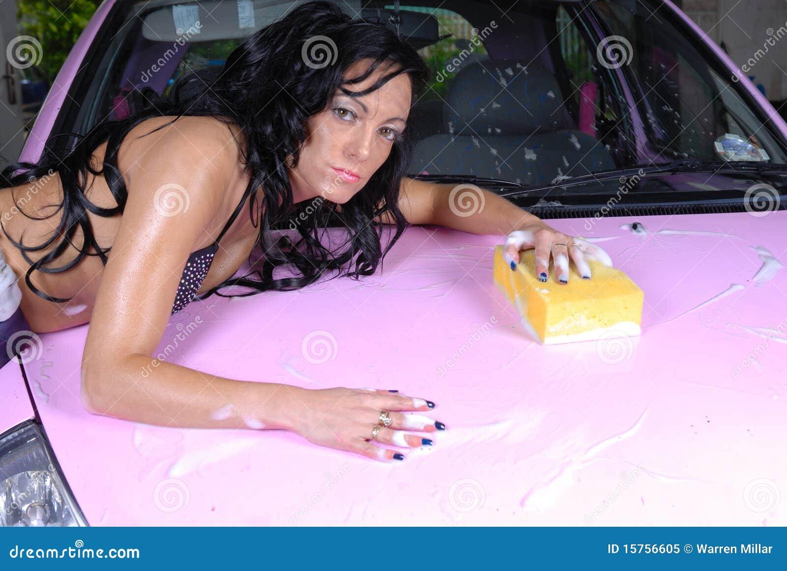 Bikini girls washing cars sorry, does not