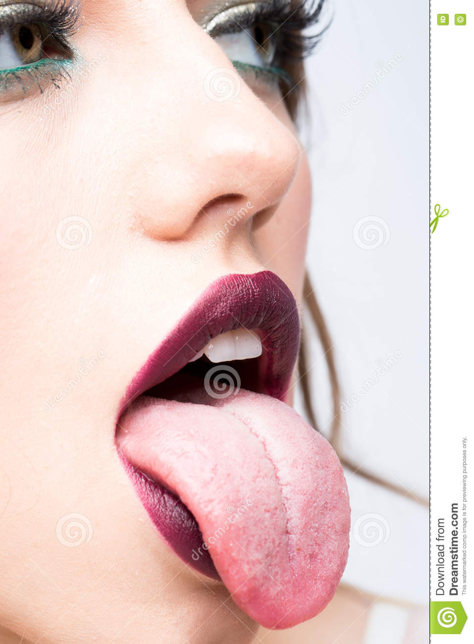 mouth tongue Sexy lips