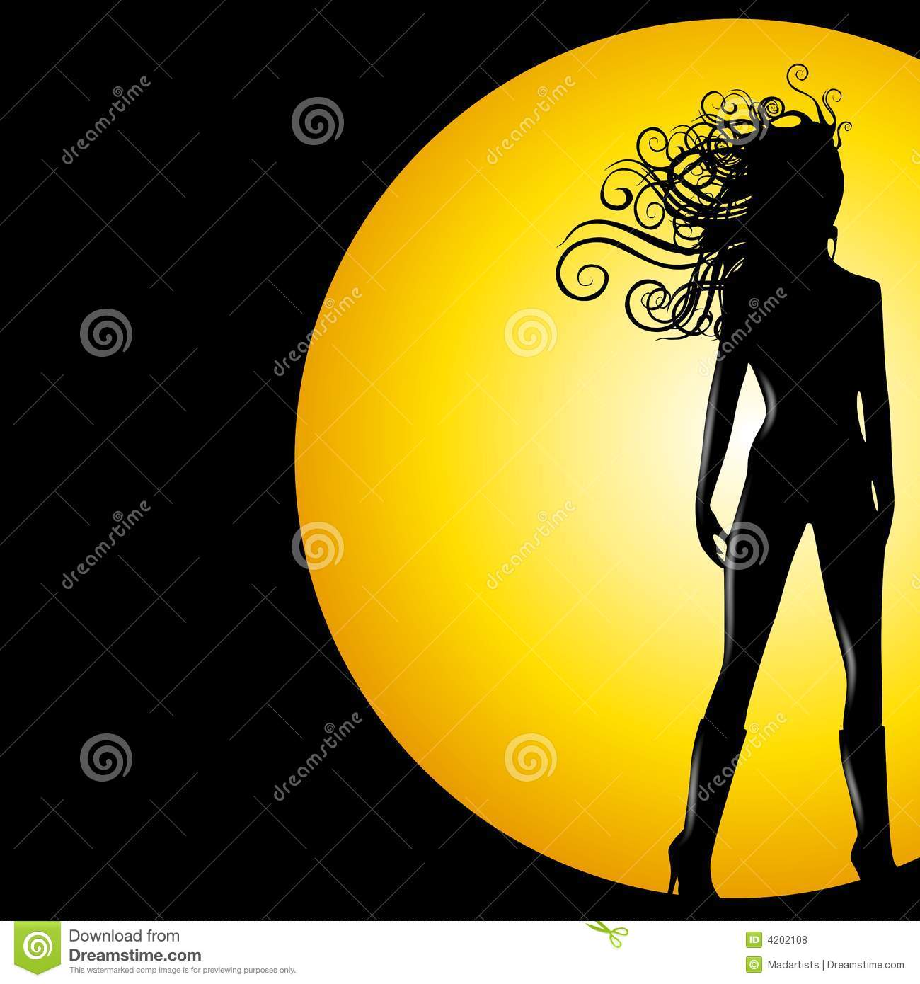 Female Super Hero Stock Vector Image Of Clipart