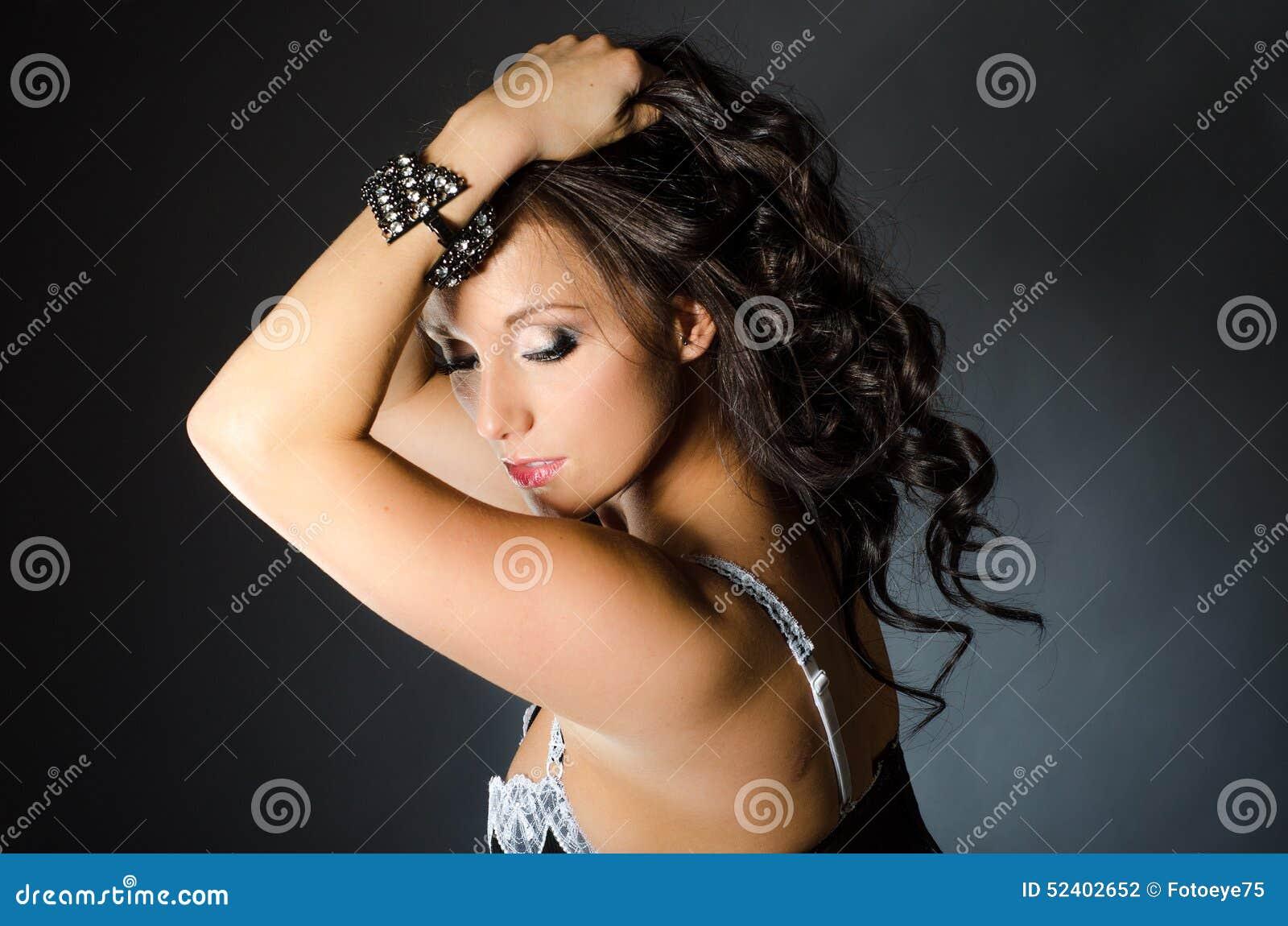 Amateur lesbian with dildo