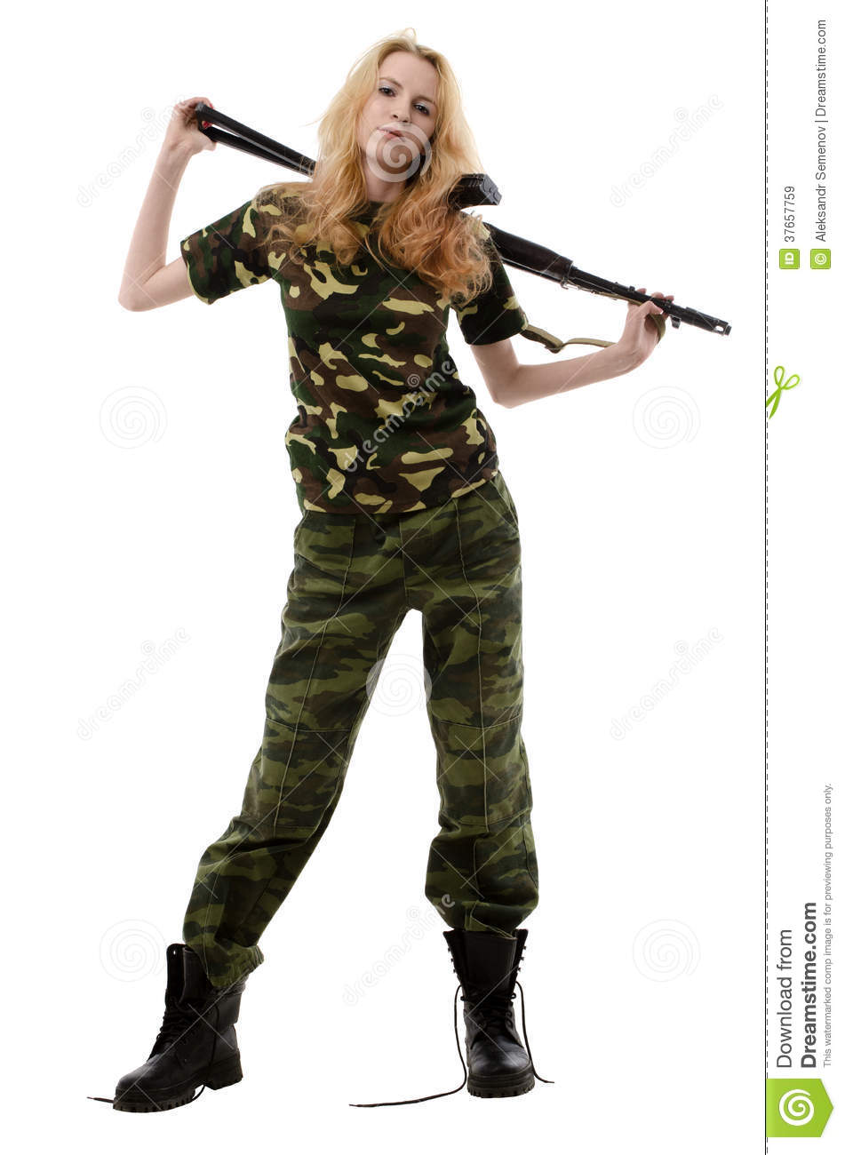 sexy naked women in camo